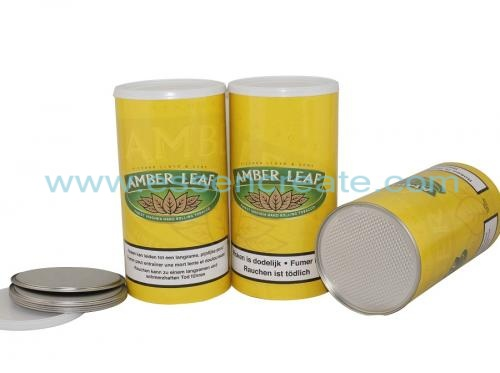 Tobacco Leaf Packaging Canister