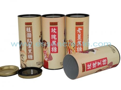 Brown Sugar Packaging Paper Tube