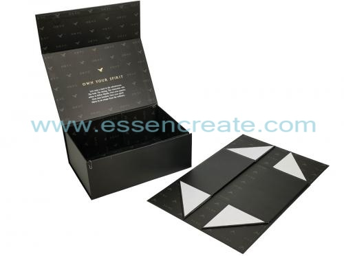 Foldable Wine Glass Packaging Magnetic Box
